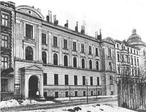Hoehere Toechterschule 1896