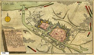 Festung Colberg 1758