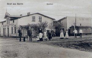 Bahnhof in Garrin