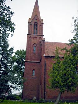 Kirche in Garrin