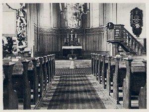 Kirche in Garrin (Innenansicht)