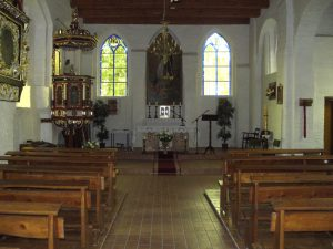 Kirchenaltar in Zernin